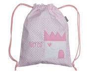 Castle Pink Personalised Bag