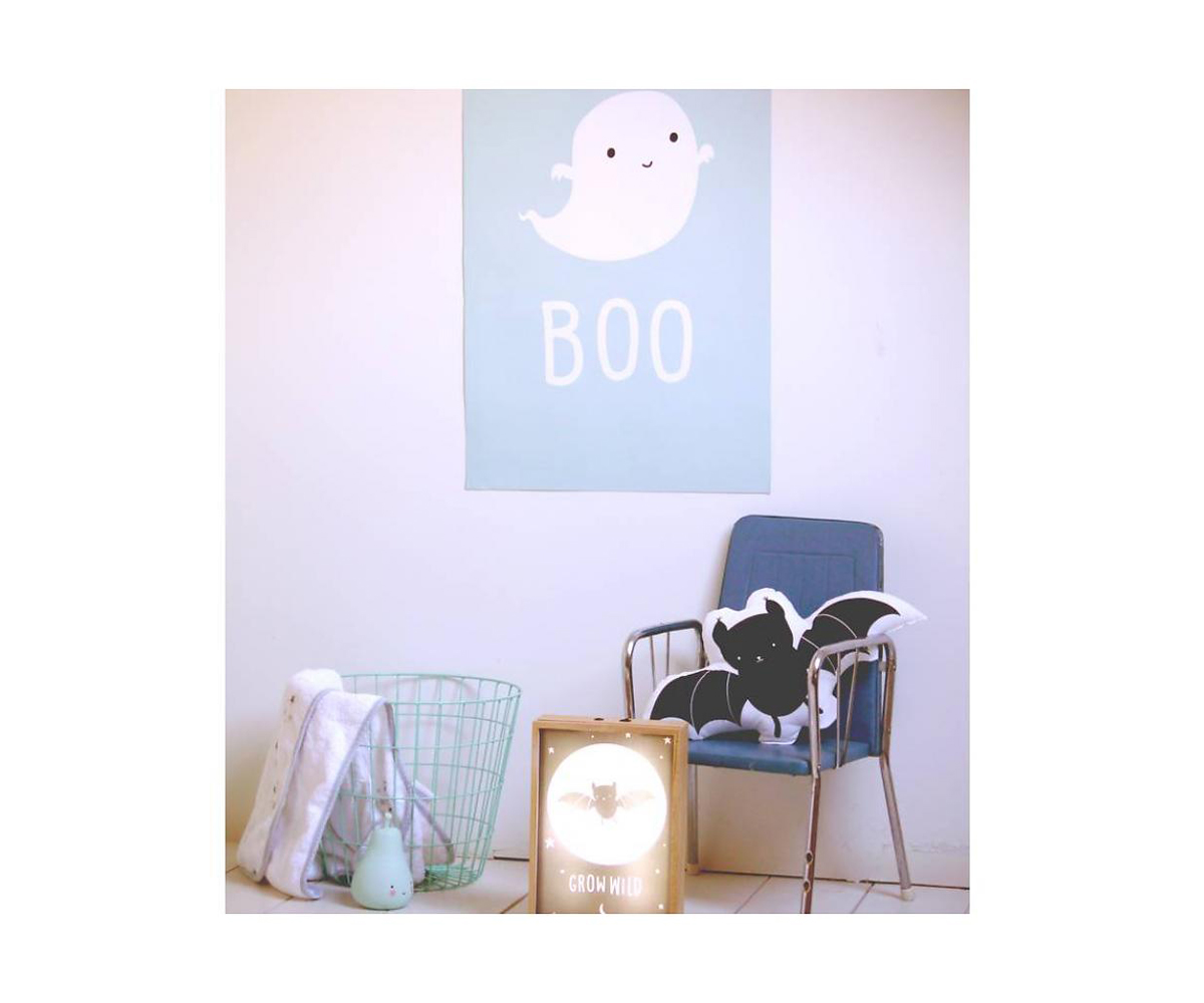 p ster ghost 50 x 70 cm. Black Bedroom Furniture Sets. Home Design Ideas