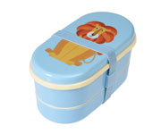Cajita Bento Colourful Creatures Lion