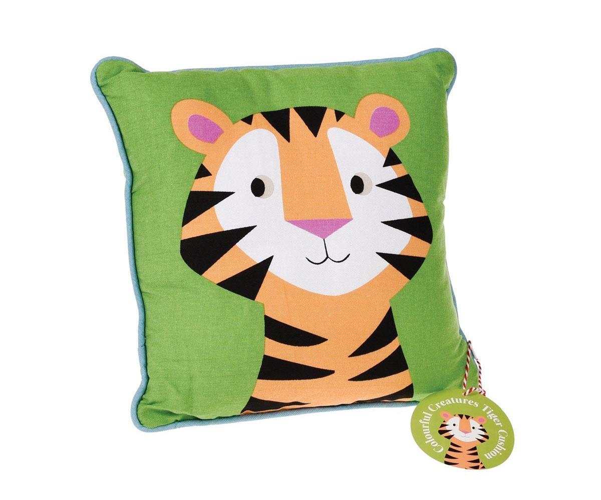 Cojines Tiger.Cojin Colourful Creatures Tiger