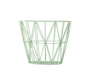 Cesta Media Metallo Dusty Green