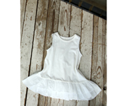 Vestido Flower Girl Blanco