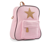 Back Pack, Rose with leather Star