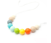 Collana Materna/Dentarello Silicone Multicolor