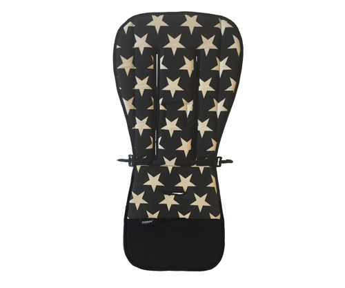 Funda Silleta Stars Black