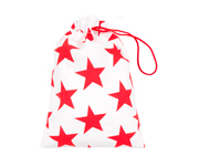 Red Nido Star Swim Suit Bag