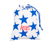 Blue Nido Star Personalised Lunch Bag
