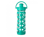 Botella Lifefactory Tapa Active Flip Cap Aquatic Green 470ml