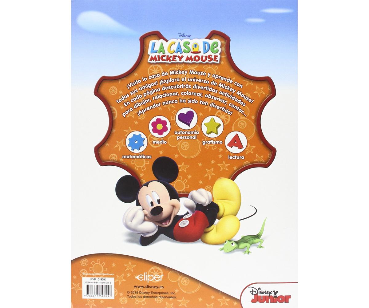 Libro educativo la casa de mickey mouse - Casa libro novedades ...