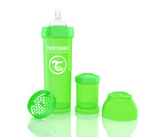Twisteshake Biberão Anti-Cólica Verde 330ml