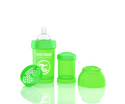 Twisteshake Biberão Anti-Cólica Verde 180ml