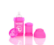 Twisteshake Biberão Anti-Cólica Rosa 180ml