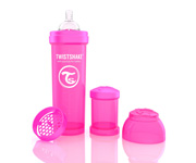 Twisteshake Biberão Anti-Cólica Rosa 330ml