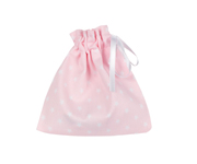 Pink Classic Star Fabric Soother Case