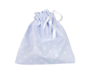 Blue Classic Star Fabric Soother Case