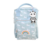 Personalisable Back Pack Blue Rabbit