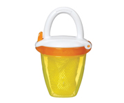 Deluxe Fresh Food Feeder Yellow