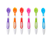 Soft-Tip Infant Spoons- 6 Pack