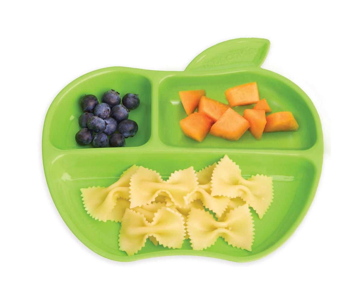 Pack 3 platos compartimentos apple for Platos con compartimentos