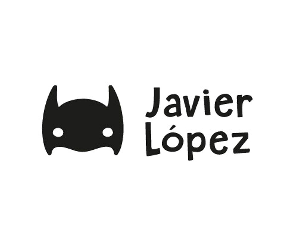 Sello de Tutete para marcar ropa super heroe estilo Batman