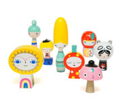 8 Figuras Mr Sun & Friends