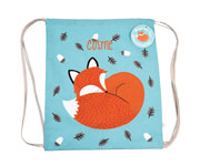 Mochila Saco Rusty The Fox Personalizada