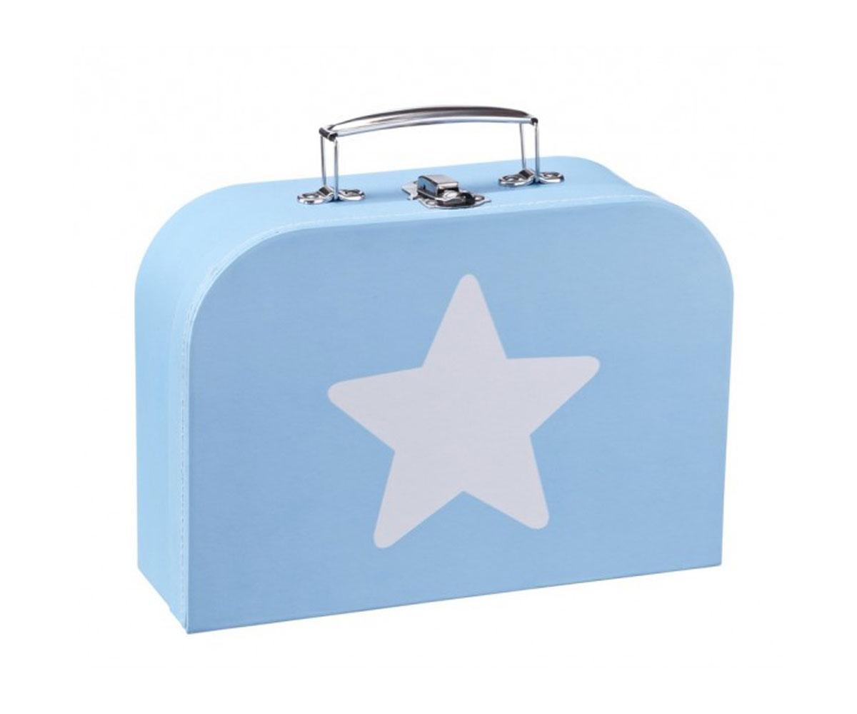 Set of 3 pastel retro suitcases - Maletas blue star ...