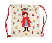 Mochila Saco Red Riding Hood Personalizada