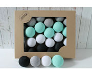 Cotton Ball Lights – MINT MARTI