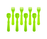 Re-Play 8 Pack Utensils - Green