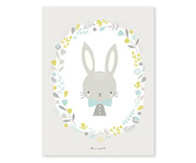 Poster Grey Rabbit