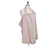 Organic Cotton Blush Bebe Nursing Cover