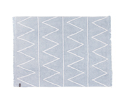 Lorena Canals Blue Rectangle Hippy Rug
