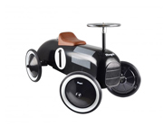 Ride-on-Vehicle, Black w. plastic seat and fuel cap