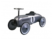 Ride - on - vehicle grey Classic RAcer max. 25 kg