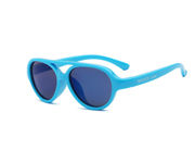 Real Shades Sunglasses Kids Sky Neon Blue 4Y