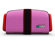 mifold Grab-and-Go Booster Seat Perfect Pink