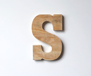 Letras Madera Natural Decorativas