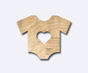 T-Shirt Wooden Natura Figure