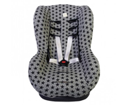 Group 1 Car Seat Cover Black Star