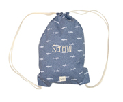 Denim Shark Personalised Back pack waterproof