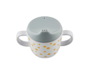 Taza con Boquilla Happy Dots Gris/Golden
