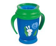 Taza 360º LOVI Follow The Rabbit Niño 250ml