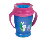 Taza 360º LOVI Follow The Rabbit Niña 250ml