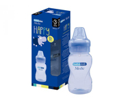 Biberon BebéduE Medic Happy Azzurro 330ml
