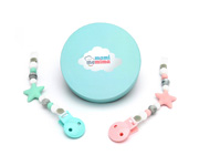 Pack 2 Portasucchietto Star Sweet Pink-Mint