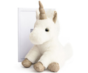 Cuddly Soft Toy Teddy Unicorn Gold