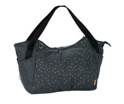 Bolso Carricoche Casual Twin Triangle Dark Grey