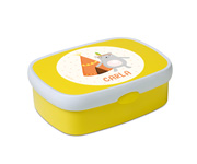 Midi Lunch Box Campus Giallo Personalizzabile