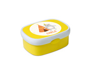 Mini Lunch Box Campus Giallo Personalizzabile